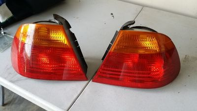BMW e46 rear lights (pair)