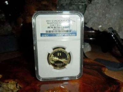 2011-S Sacagawea Dollar Native American Dollar NGC PR 70 Ultra Cameo Early Relea