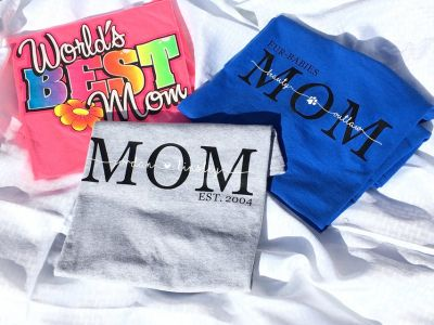 Mother Day Custom Shirts and Baskets