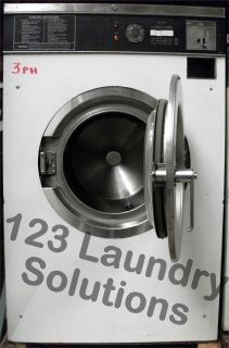 Maytag Front Load Washer 18lbs 120v White AT18MC1 Used