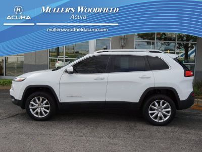 2015 Jeep Cherokee Limited (Bright White Clear Coat)
