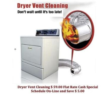 Clifton Dryer Vent Cleaning and Fireplace Cleaning Passaic County, NJ