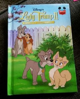Lady and the Tramp II Scamp's Adventure (Disney Wonderful World of Reading) Hard Cover Book