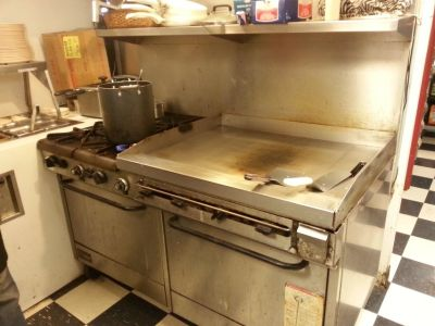 Commercial stove/oven