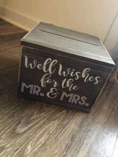Well Wishes Note Box