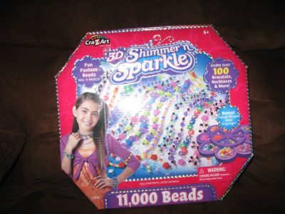 3 D Fun fashionJewerly Beads for girls 1 left
