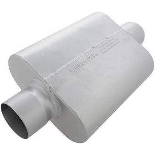 "Purchase Flowmaster 54030-12 Delta Force 30 Muffler 4"" Center Inlet 4"" Center Outlet motorcycle in Suitland, Maryland, US, for US $171.94"