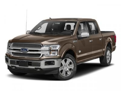 2018 Ford F-150 King Ranch (White Platinum Metallic Tc)