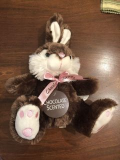 Brand new with tags chocolate scented bunny