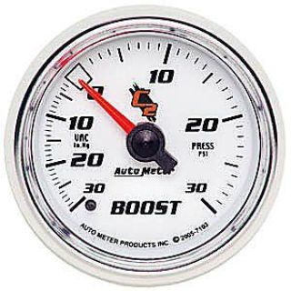 Sell AutoMeter 7103 C2 Mechanical Boost Vacuum Gauge motorcycle in Suitland, Maryland, United States, for US $105.90