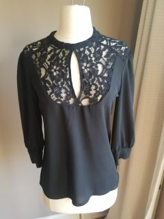 EXPRESS Lace front shirt