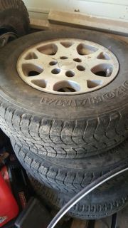 Stock 6 lug chevy rims and tires