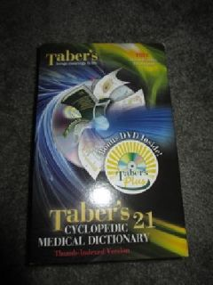 $35 OBO Taber's 21st Edition Cyclopedic Medical Dictionary