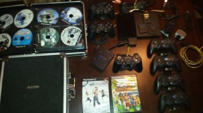 Playstation 2 and accessories