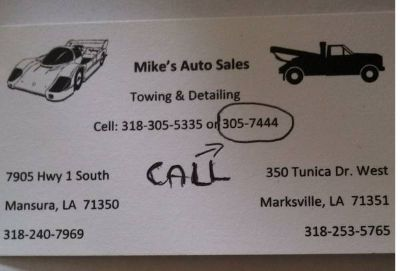 All Models And Makes (Marksville)