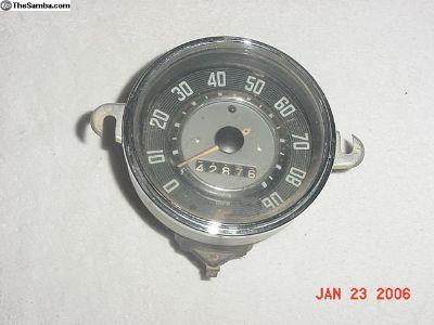 Speedometer Dated 12-61, Type 1