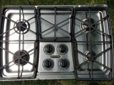 kitchenaide gas cooktop