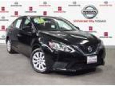 Used 2016 Nissan Sentra Super Black, 17.7K miles