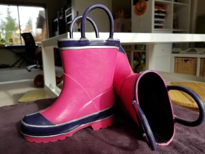 Toddler Rain Boots - Size 5