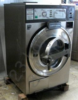 Coin Operated Continental Front Load Washer 18Lbs 120V Stainless Steel L1018CRA1510 Used