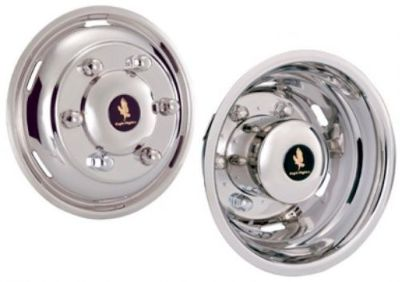 "Buy SPRINTER VANS 15"" WHEEL COVERS WHEEL SIMULATOR HUB CAPS STAINLESS STEEL LINERS motorcycle in Almo, Kentucky, United States, for US $264.95"