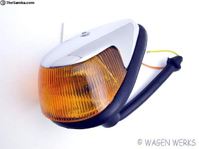 Bug Turn Signal Assembly - 1968 to 1969 - Amber