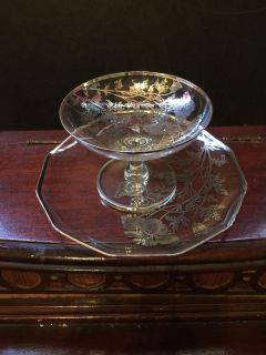 CRYSTAL & SILVER PLATE & GLASS 25th ANNIVERSARY