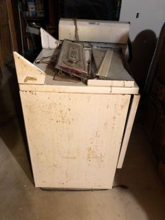 Washer and dryer for scrapping