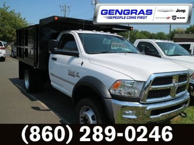 2016 RAM 5500 TRADESMAN CHASSIS REGULAR CAB (Bright White Clearcoat)