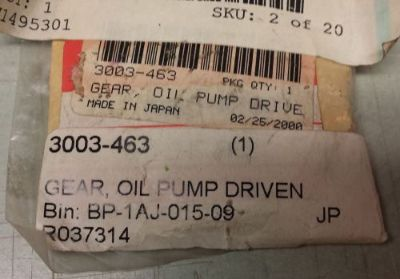 Sell OEM Arctic Cat Oil Pump Driven Gear 3003-463 ZR Wildcat *NEW* FREE SHIPPING motorcycle in Oshkosh, Wisconsin, United States, for US $28.12