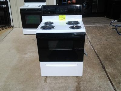 $289, Whirlpool electric stove