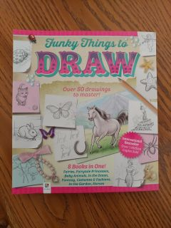 Funky Things to Draw-book
