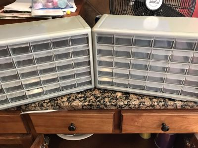 30-drawer Nut and Bolt Organizers