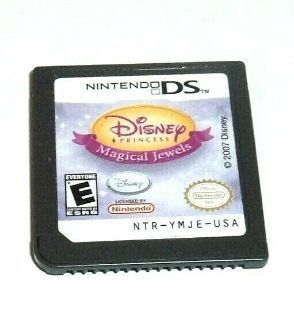 Nintendo DS Disney Princess Magical Jewels Game Lite DSI XL 2DS 3DS