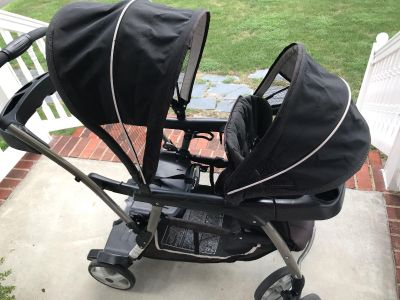 Graco sit and stand stroller! This thing is awesome!