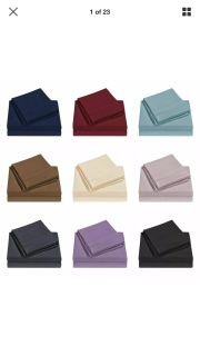 ISO: Looking for 2 queen size bedding flat sheets