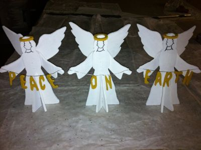 3 small angels 3d
