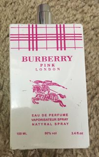 Burberry Pink London Perfume, 3.4 oz