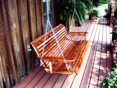 Porch swings and gliders