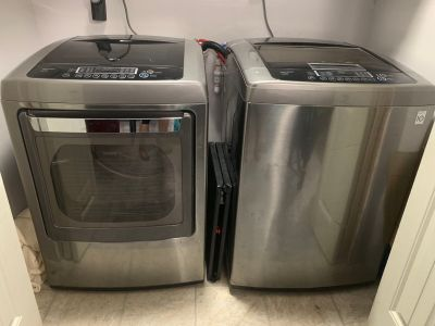 LG Ultra Large Capacity Washer & Dryer