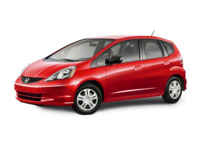 2010 Honda Fit Base (Storm Silver Metallic)
