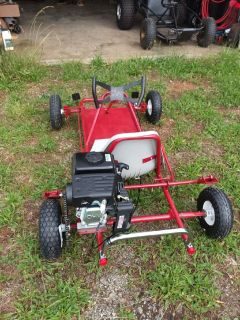 New Build Go Kart