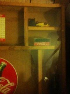 $125 Coca Cola memorabilia shadow box - SW Springfield