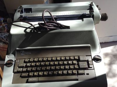 IBM Royal Litton Model C Electric-Vintage Typewriter- 1967