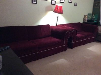 ***COUCH AND LOVESEAT***