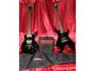 Dean Cadillac And Bc Rich Warlock Combo Sale Or Trade