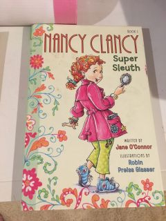 Fancy Nancy Super Sleuth hard cover book