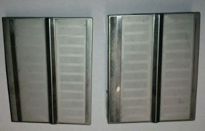 Sell 1963 Lincoln Convertible Rear Grille Trim Hinge Covers Left & Right motorcycle in Yucca Valley, California, United States, for US $375.00
