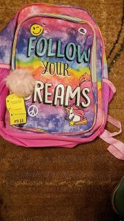 Follow Your Dreams Back Pack