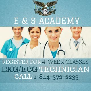 Why should you become an EKG Technician?
